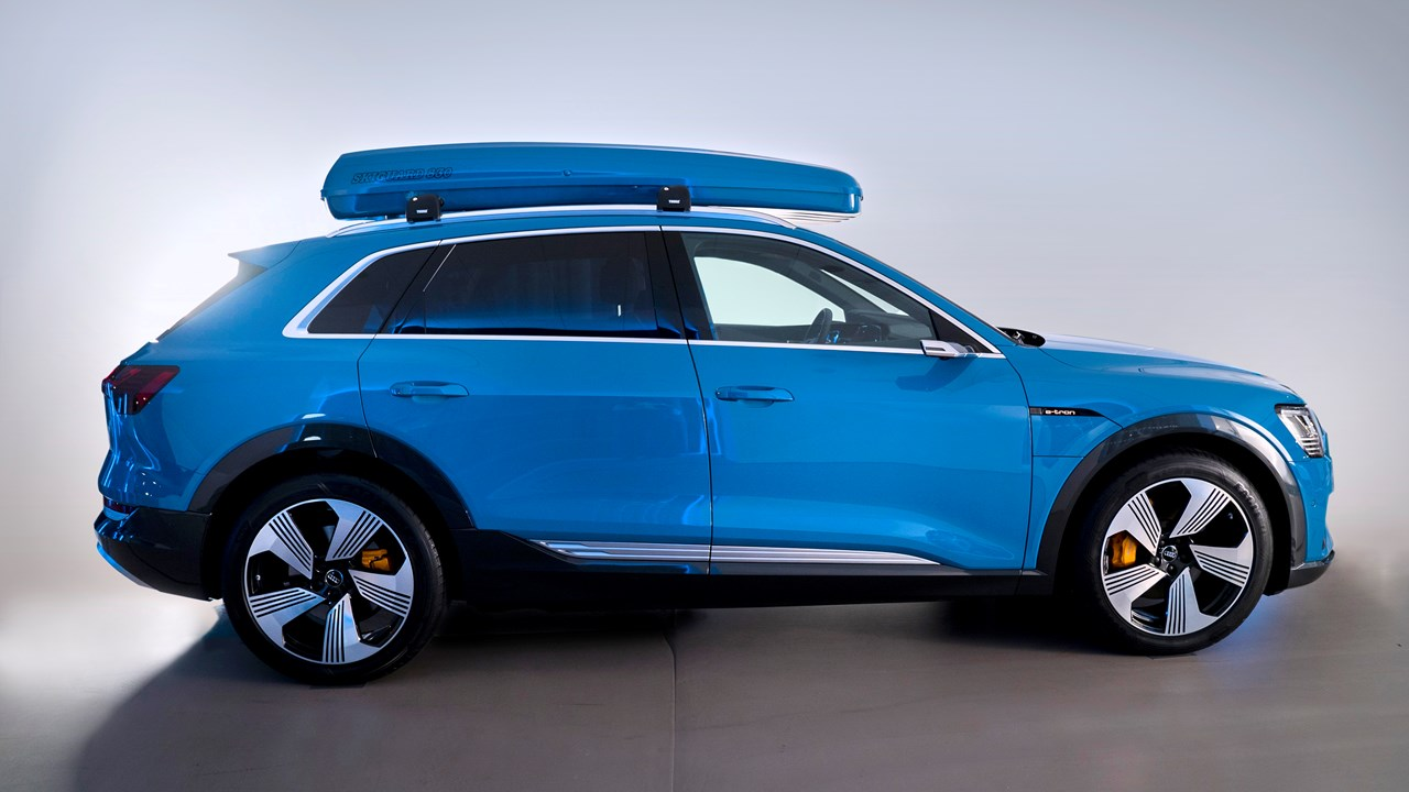 Audi eTron, with Skiguard 830 Touring